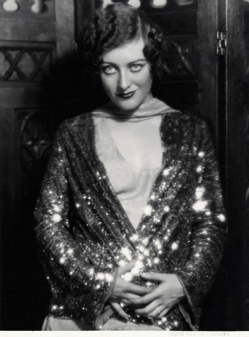1929 publicity by Ruth Harriet Louise.