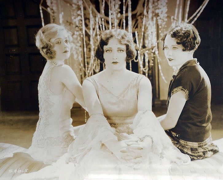 1925. 'Sally, Irene, and Mary.' With Constance Bennett, left, and Sally O'Neil.