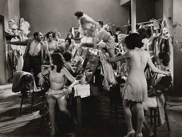 A dressing-room scene from 'Paris.'