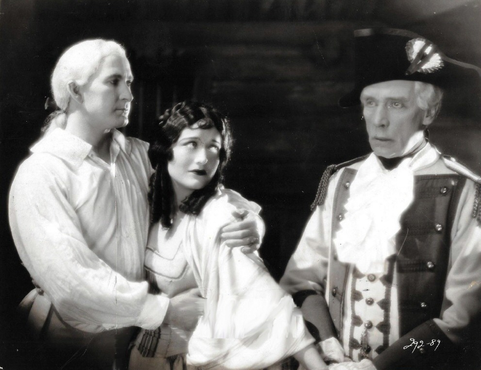 1927. 'Winners of the Wilderness.' With Tim McCoy, left, and Edward Connelly.
