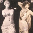 1928. An 'Our Dancing Daughters' publicity montage.