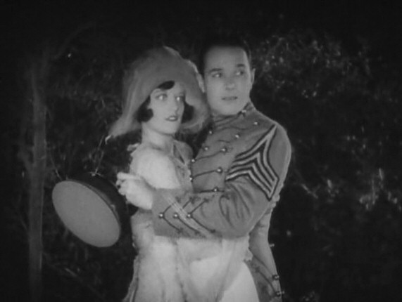 1928. Screen shot from 'West Point,' with William Haines.