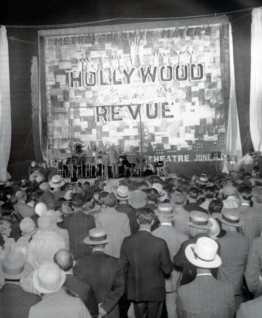 June 20, 1929. Los Angeles Grauman's premiere of 'Hollywood Revue of 1929.'
