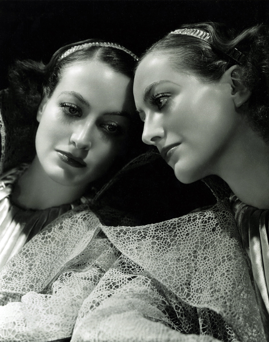 1934 publicity for 'Forsaking All Others' shot by Hurrell.