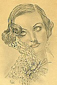 Mid-1930s, by William Reynolds. 9 x 12 inches, in pencil.