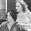 1931. Joan with mom Anna Bell during the filming of 'Laughing Sinners.'