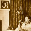 1932 magazine photo of Doug at home in '31.