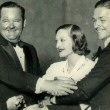 1932. With Laurel and Hardy and Doug Jr.