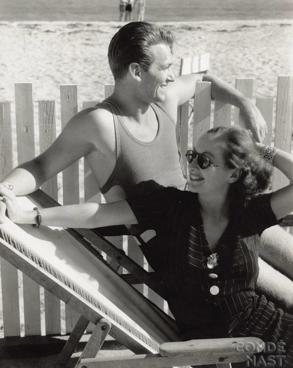 Joan and Doug. Shot by Edward Steichen for the February 1932 Vanity Fair.