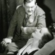 With Lionel Barrymore.
