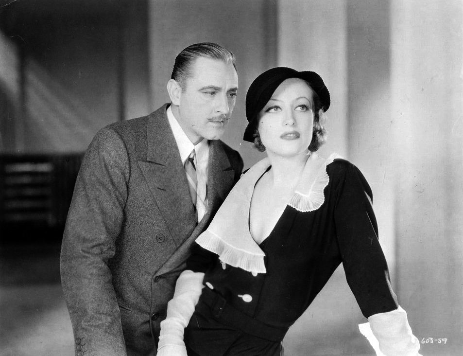1932. 'Grand Hotel.' With John Barrymore.
