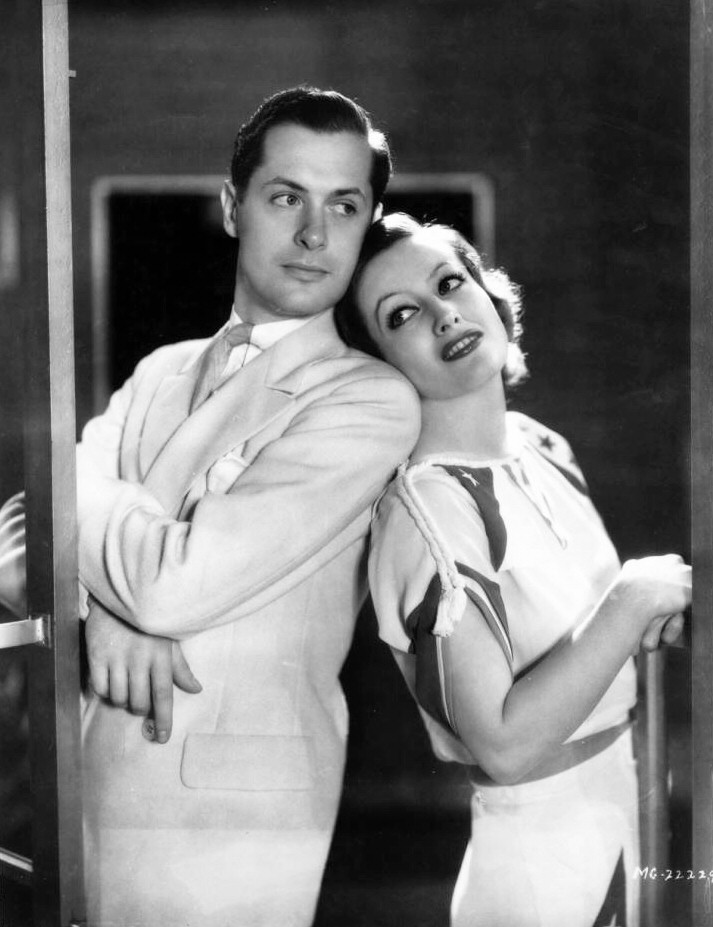 1932. Publicity for 'Letty Lynton' with Robert Montgomery.