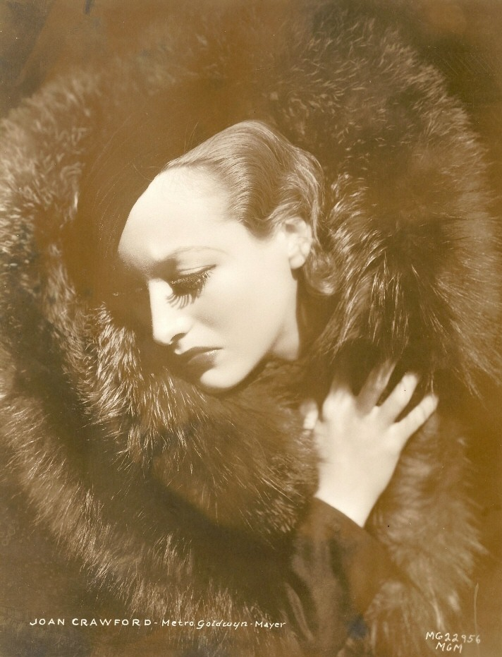 1932. 'Letty Lynton' publicity shot by Hurrell.