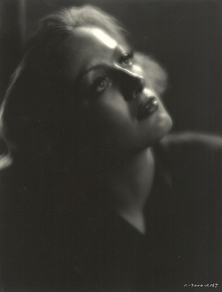 1932 publicity for 'Rain' shot by John Miehle.