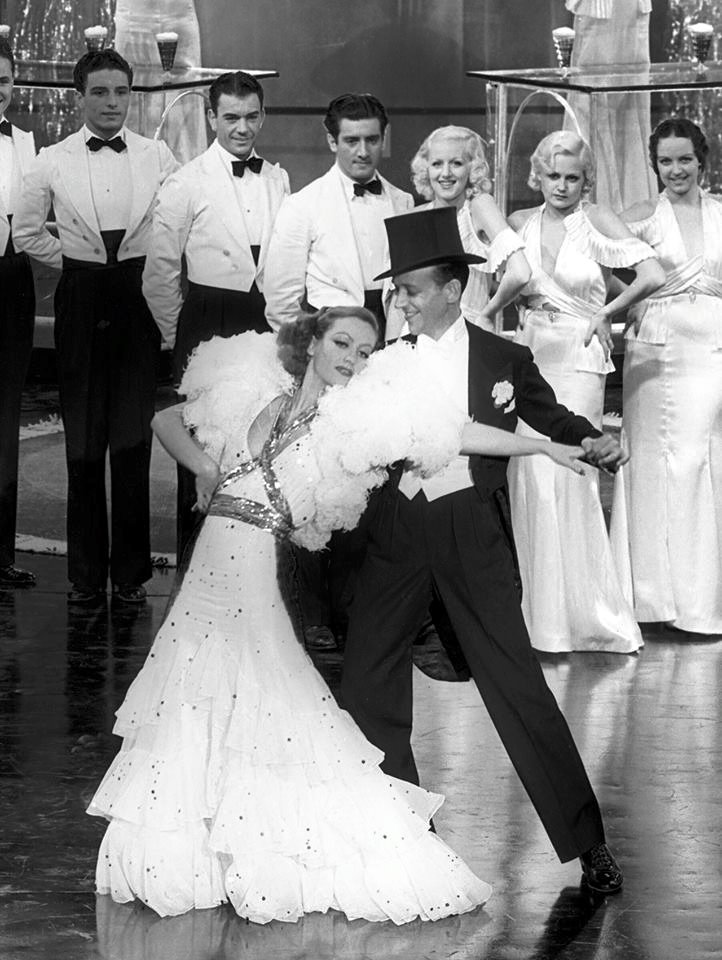 1933. 'Dancing Lady,' with Fred Astaire.