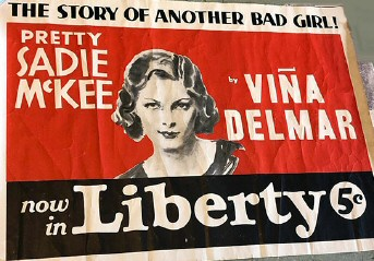 1933 ad for Liberty magazine story upon which the movie was based.