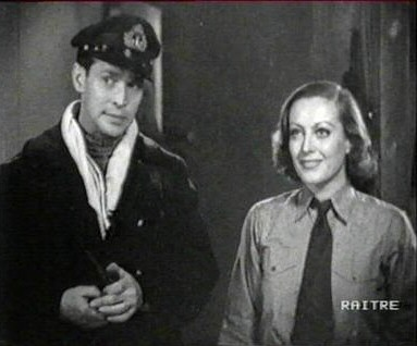 'Today We Live' screen shot with Franchot Tone.