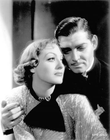 1933. 'Dancing Lady.' With Clark Gable.