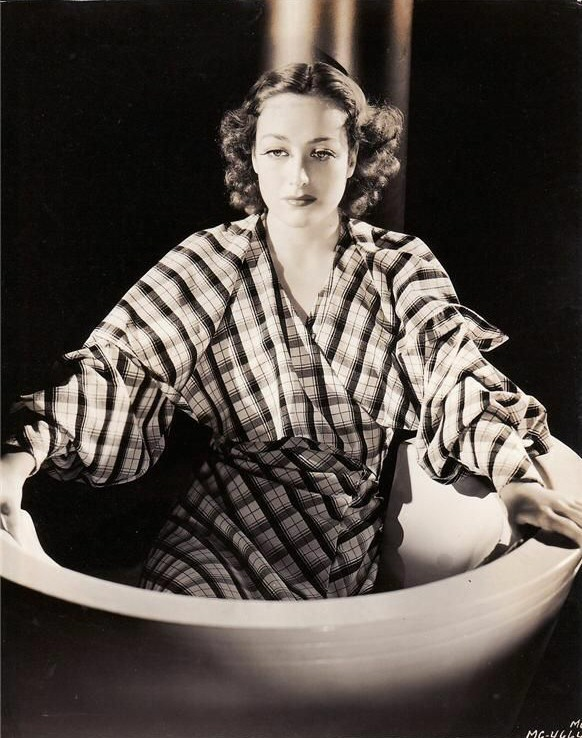1935. Publicity for 'I Live My Life,' shot by Hurrell.