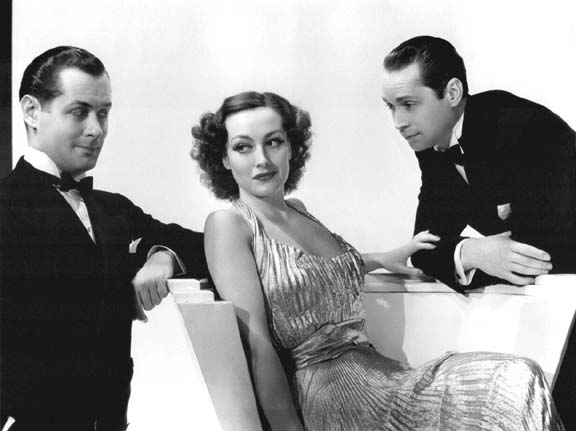 With Robert Montgomery and Franchot Tone.