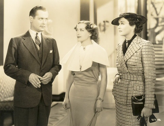 With Robert Montgomery and Gail Patrick.