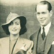 1935. With husband Franchot Tone.