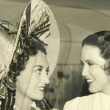 On the set with Eleanor Powell.