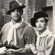With Clark Gable.