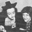 1936, with the editor of Photoplay magazine, Ruth Waterbury.