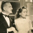 1937. 'The Last of Mrs. Cheyney.' With Frank Morgan, left, and Ralph Forbes.