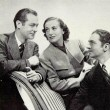 With Robert Montgomery and William Powell. Shot by Hurrell.