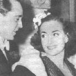 1937. With husband Franchot Tone.