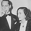 Circa 1937, with husband Franchot Tone.