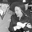 1938. Joan fights off the fans in NYC.