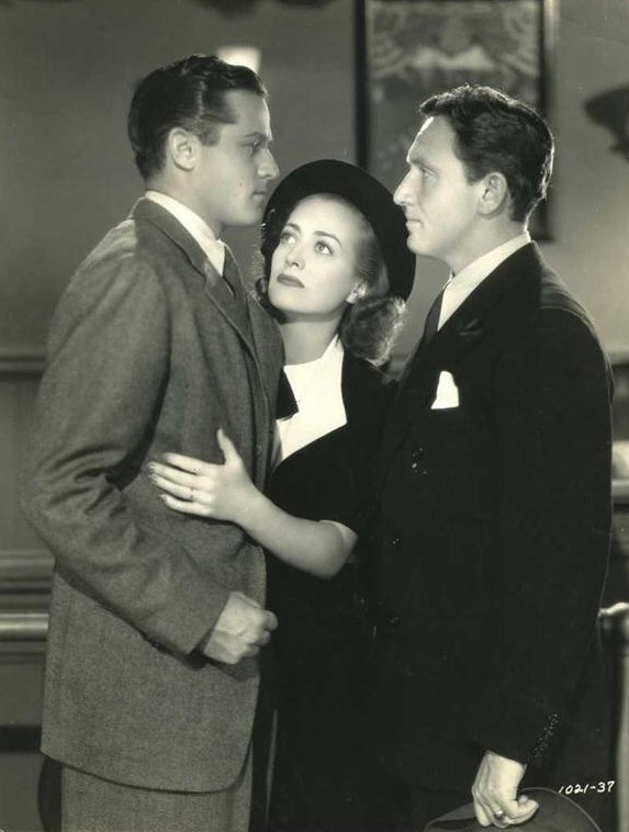 1938. 'Mannequin.' With Alan Curtis and Spencer Tracy.