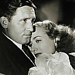 1938. 'Mannequin.' With Spencer Tracy. A photo and MGM drawing based on same photo.
