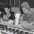 1939. With Alice Thompson at CC Brown's soda fountain in Hollywood.