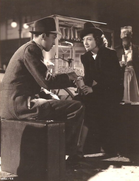 1939. With James Stewart in 'Ice Follies.'