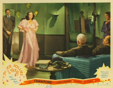 US lobby card: 'Don't worry...you'll be a sensation in pictures!'