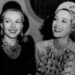 1939. With Lana Turner, left, and Ann Rutherford at unknown event.