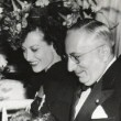 1939, at the premiere of 'The Women.' With Louis B. Mayer.