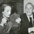 1946. With Jimmy Durante.