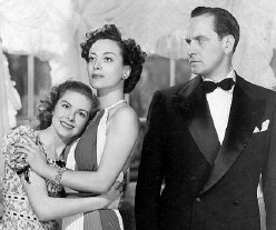 With Rita  Quigley and Fredric March.