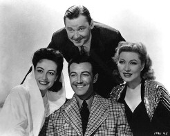 Clockwise from top: Marshall, Garson, Taylor, Joan.
