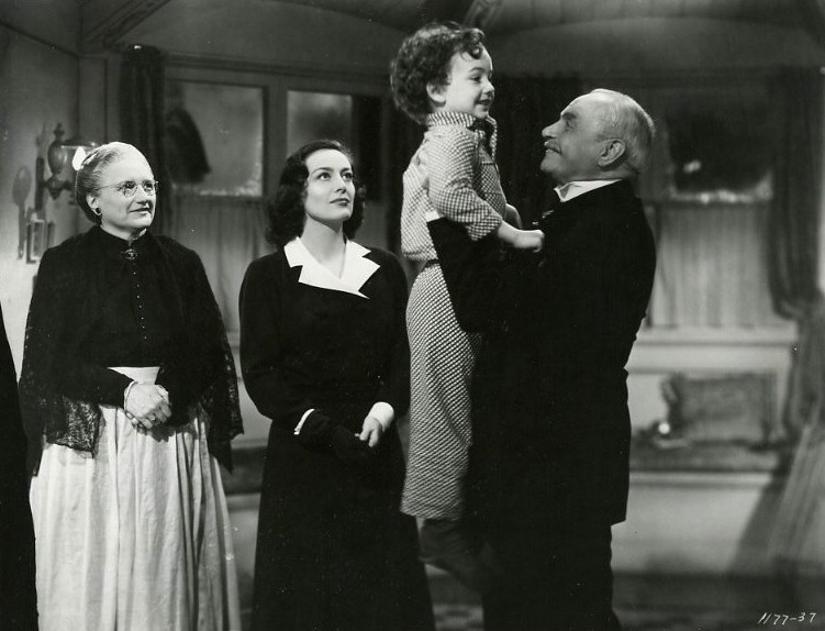 1941. 'A Woman's Face.' With Marjorie Main, Richard Nichols, and Albert Bassermann.