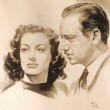 MGM publicity drawing, with Melvyn Douglas.