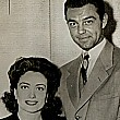 July 1942. Newlyweds Joan and Phillip Terry.