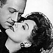 1942. Publicity for 'They All Kissed,' with Melvyn Douglas.