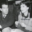With Fred MacMurray.