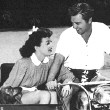 Circa 1944, with husband Phillip Terry.